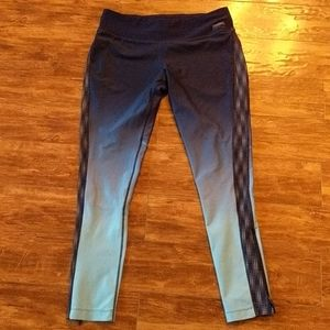 🔥 2 for $20 Running Room Blue Ombre Leggings L